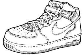 Image result for air force one shoe clip art.