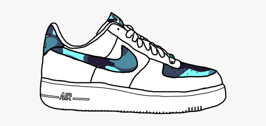 Banner Free Library Sneakers Clipart Air Force One.