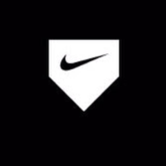 Nike baseball Logos.