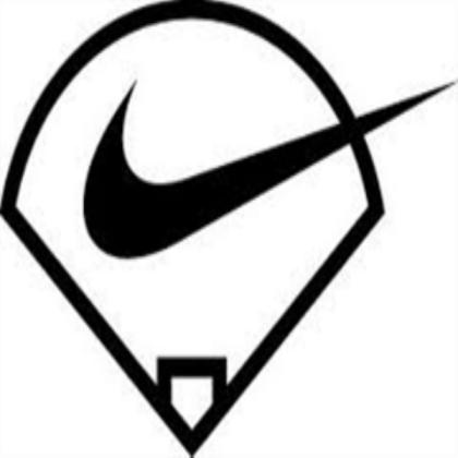 Nike Baseball Logo.