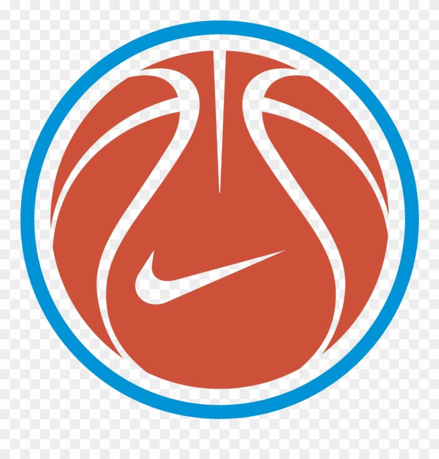 Nike Basketball Logo Vector Free Vector Silhouette.