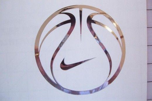 Nike basketball logo.