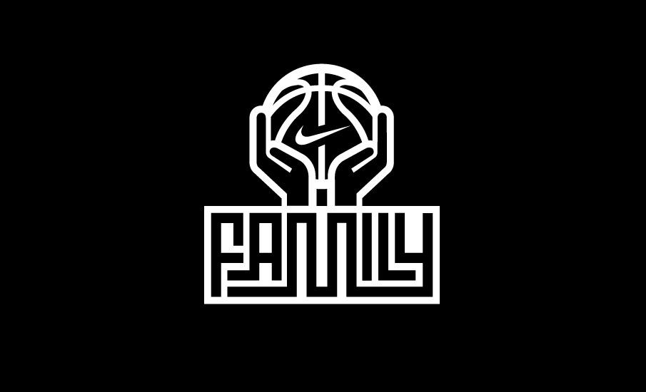 Nike basketball Logos.
