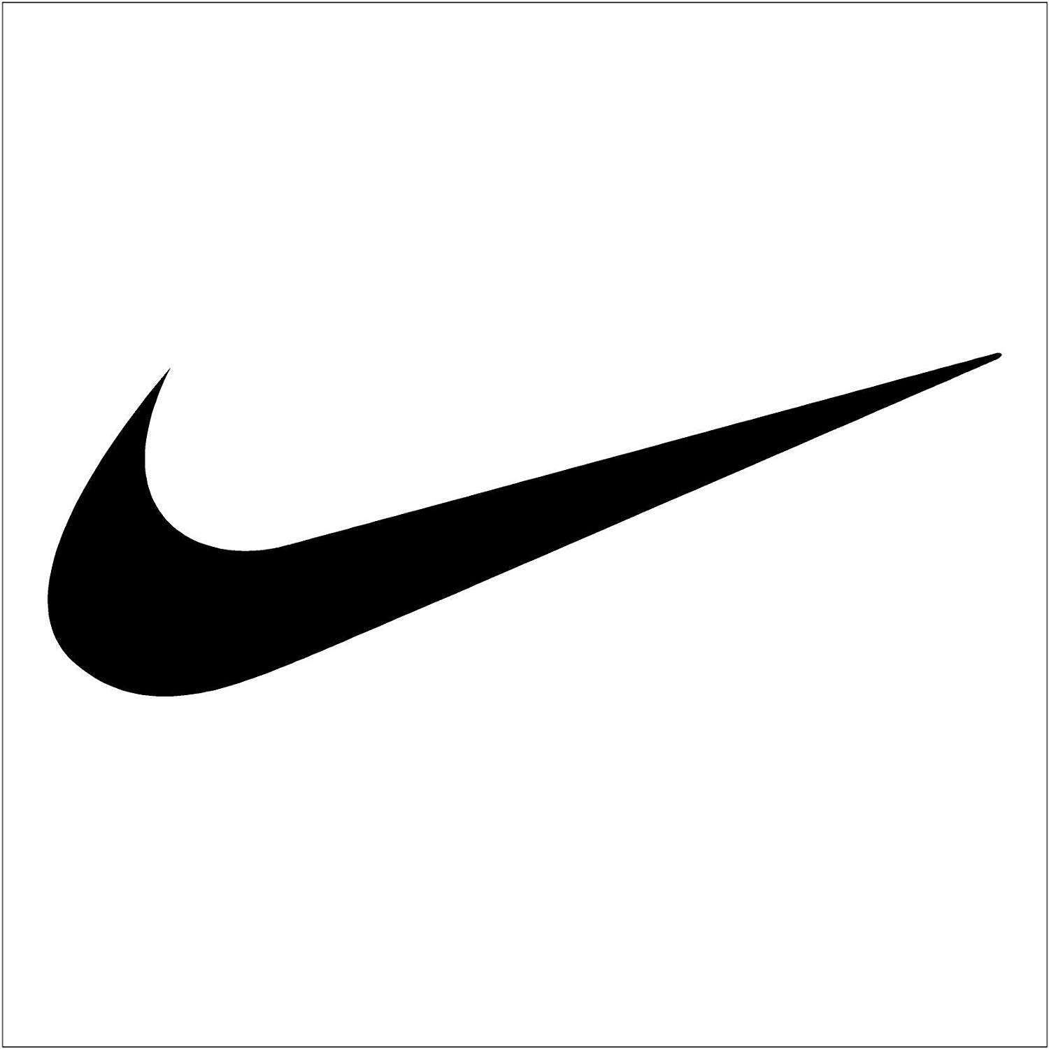Crawford Graphix Nike Swoosh Logo Vinyl Sticker 2 Pack (6\