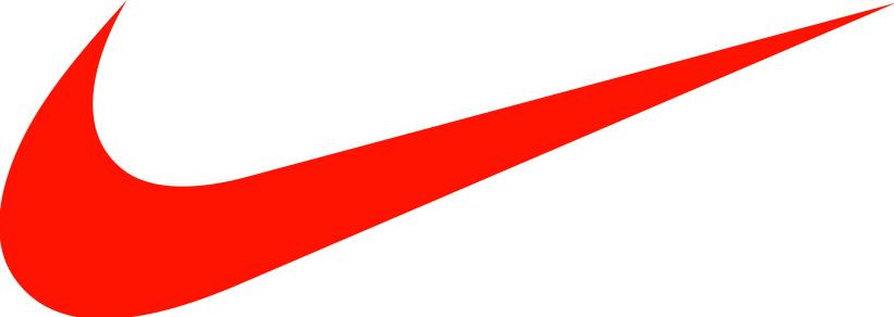 Nike swoosh logo clipart.