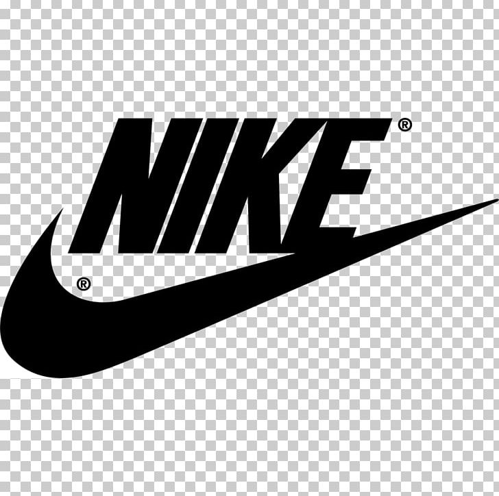 Logo Brand Nike Swoosh Kiev PNG, Clipart, Black And White.