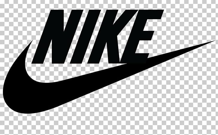Swoosh Nike Logo Decal Company PNG, Clipart, Black And White.