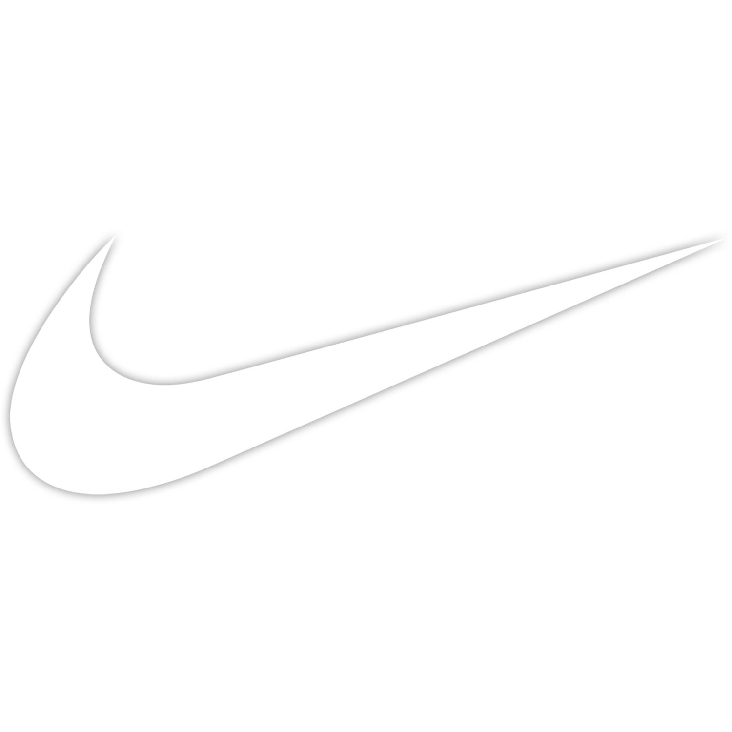 White nike logo png Transparent pictures on F.