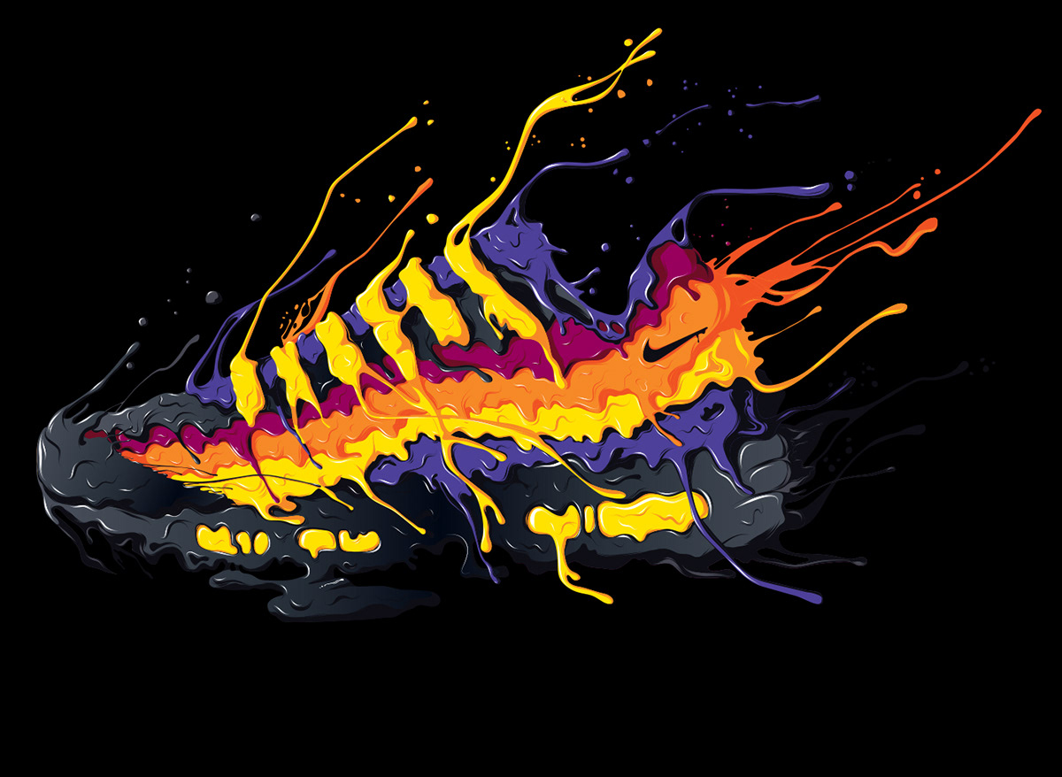 Nike: Drip Drap on Behance.