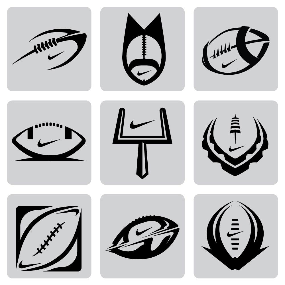nike football logo.