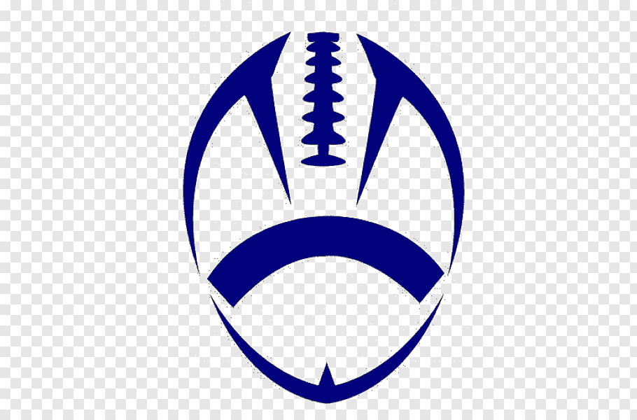 Blue rugby club logo, Nike American football, Youth Football.