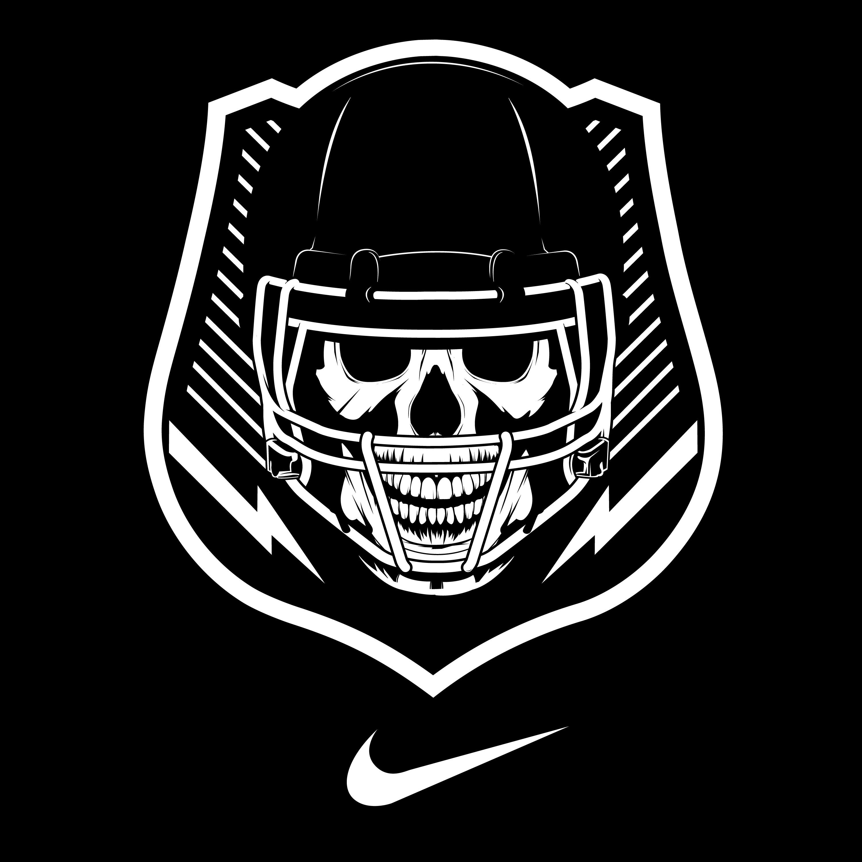 Nike football Logos.