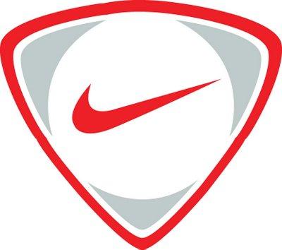 Football logo nike clipart.
