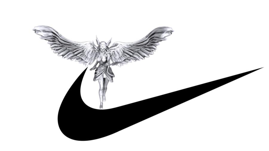 Nike Symbol clipart.