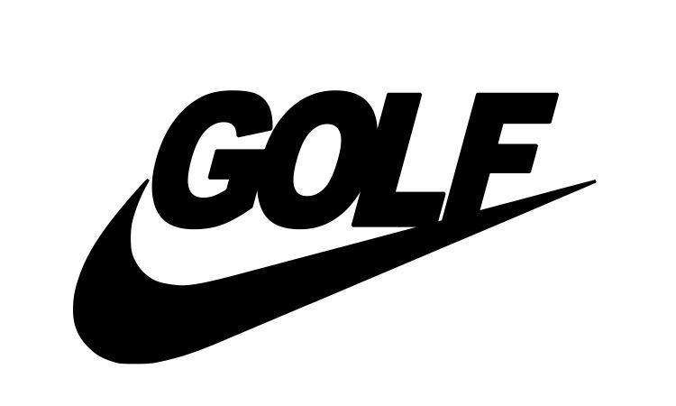 Nike golf Logos.