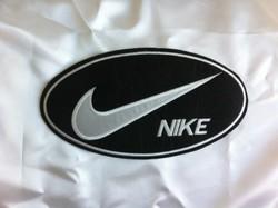 Nike iron on Logos.