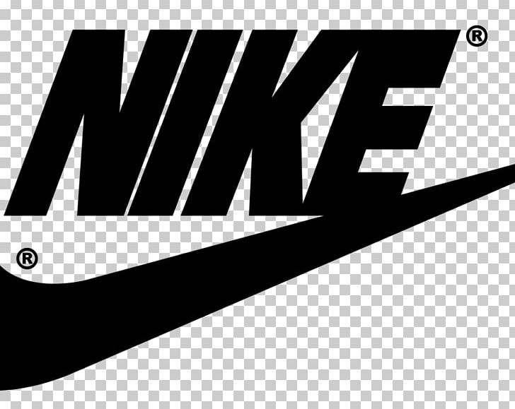 Swoosh Nike Logo Brand Just Do It PNG, Clipart, Angle, Black.