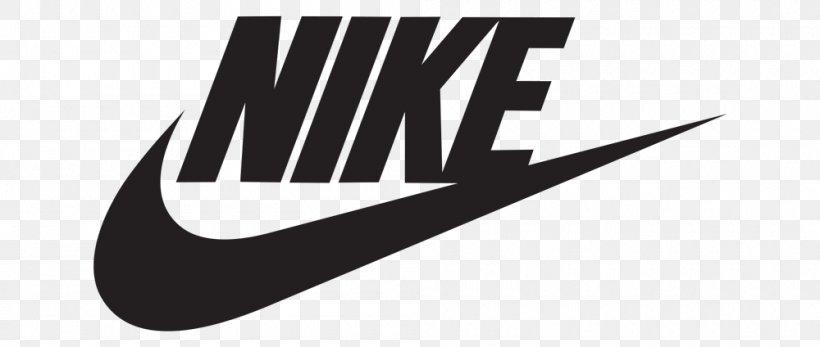 Logo Brand Nike Swoosh Symbol, PNG, 1000x424px, Logo, Black.