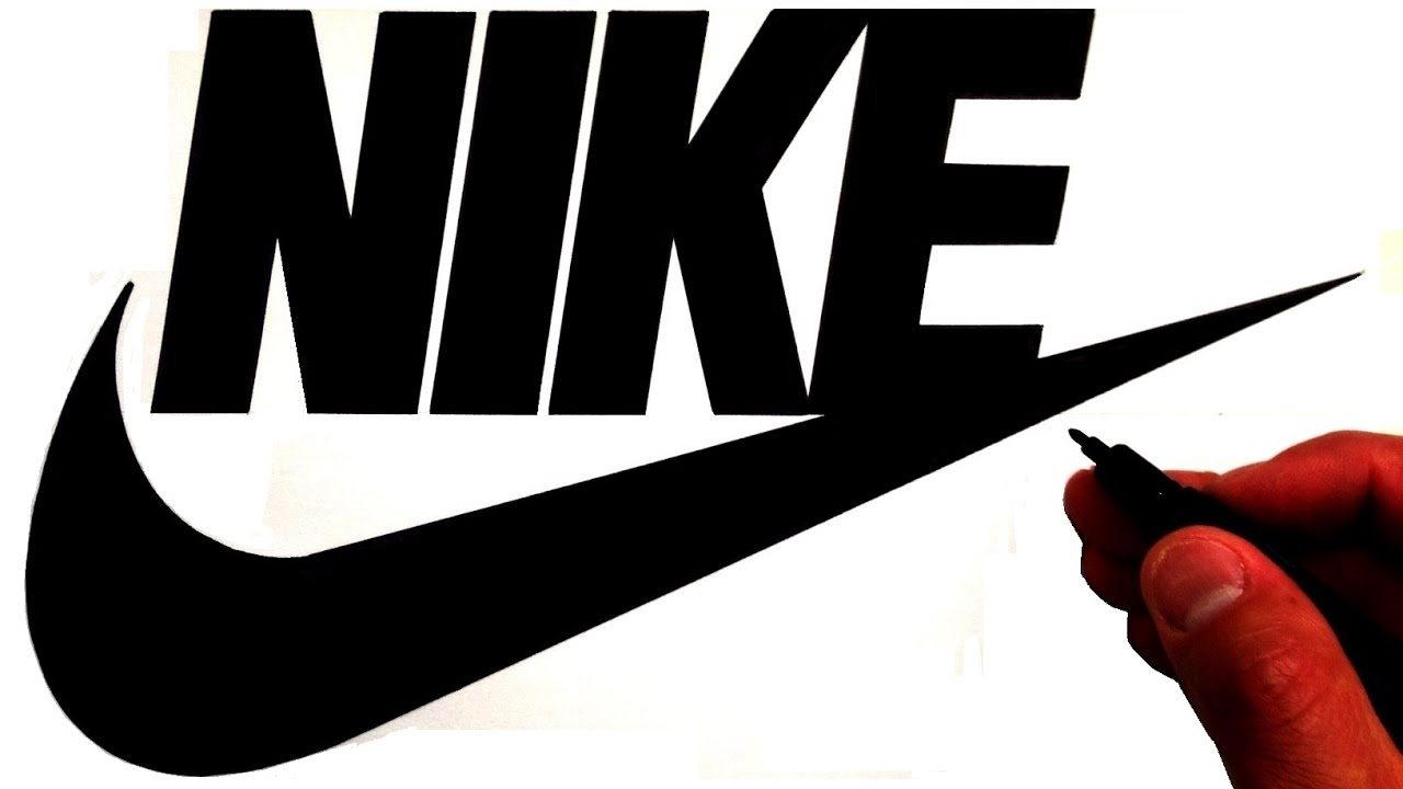 How to Draw the Nike Logo.