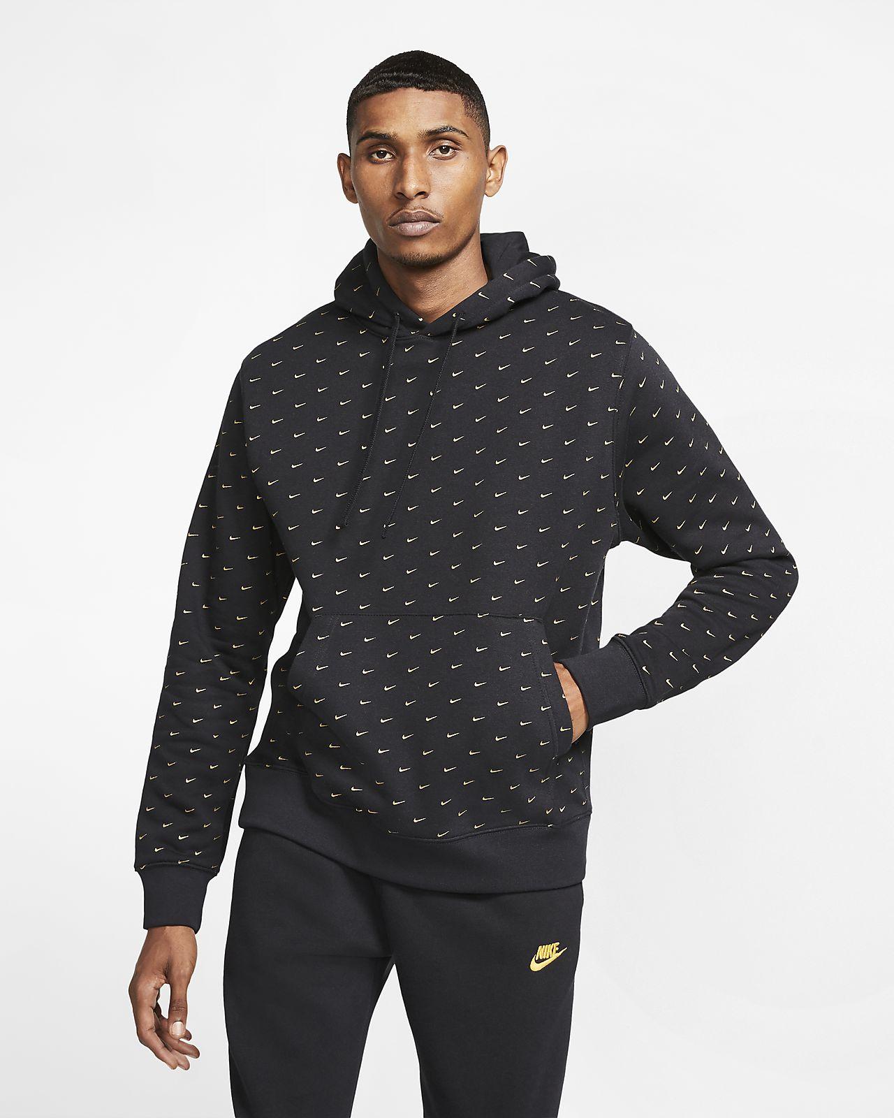 Nike Sportswear Men\'s Swoosh Pullover Hoodie.