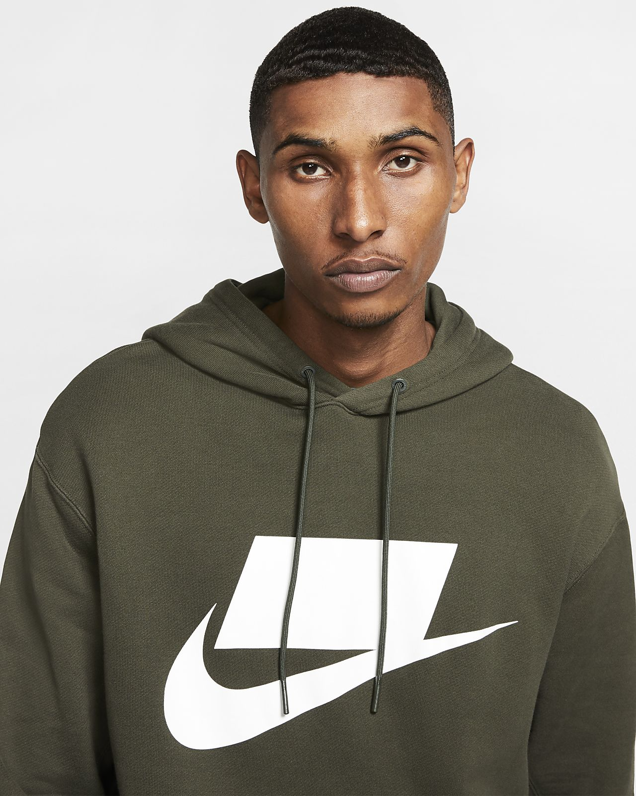 Nike Sportswear NSW French Terry Pullover Hoodie.