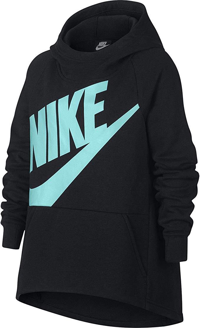 Nike Girl\'s Sportswear Pullover Hoodie.