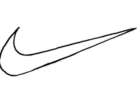Nike Logo Coloring Pages.