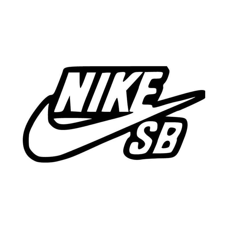 Nike Sb Outline Vinyl Decal Sticker BallzBeatz . com in 2019.