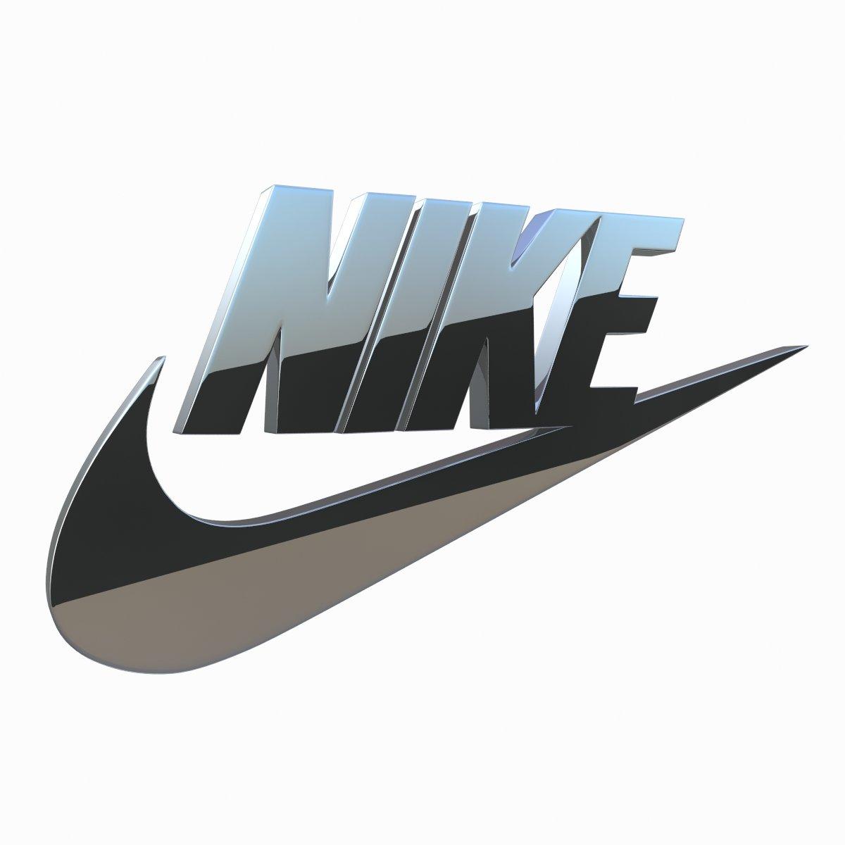 Nike Logo 3D 3D Model in Other 3DExport.