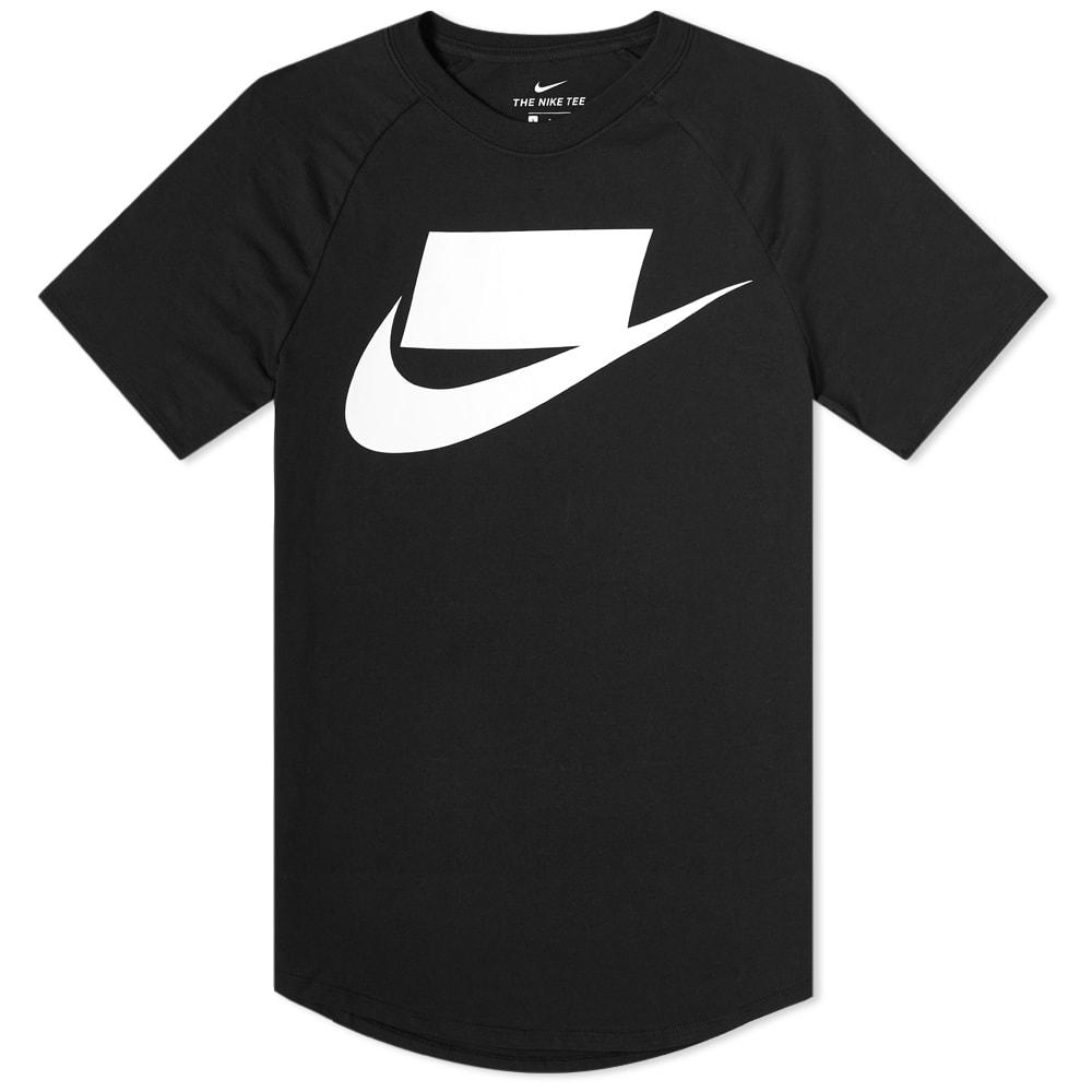 Nike Block Logo Tee.