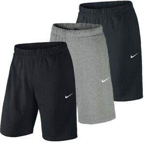 Details about New Men\'s Nike Logo Lightweight Cotton Shorts.