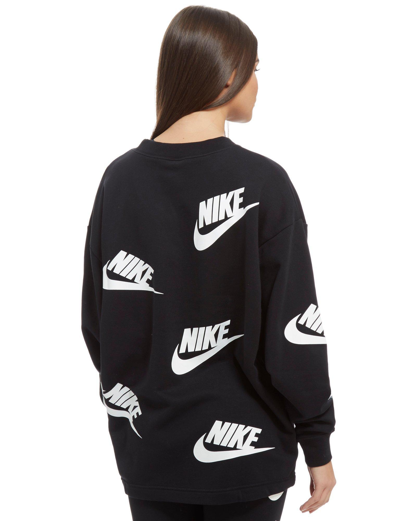 All Over Print Futura Crew Sweatshirt.