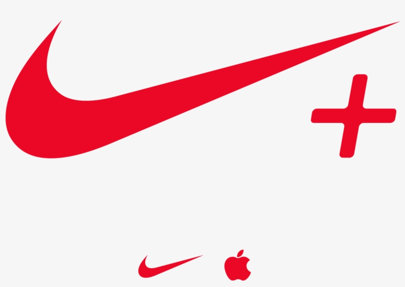 Nike Plus Logo Vector Free Vector Silhouette Graphics.