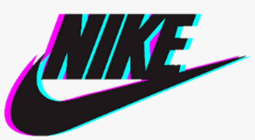 Nike Logo Glitch Tumblr Photography.