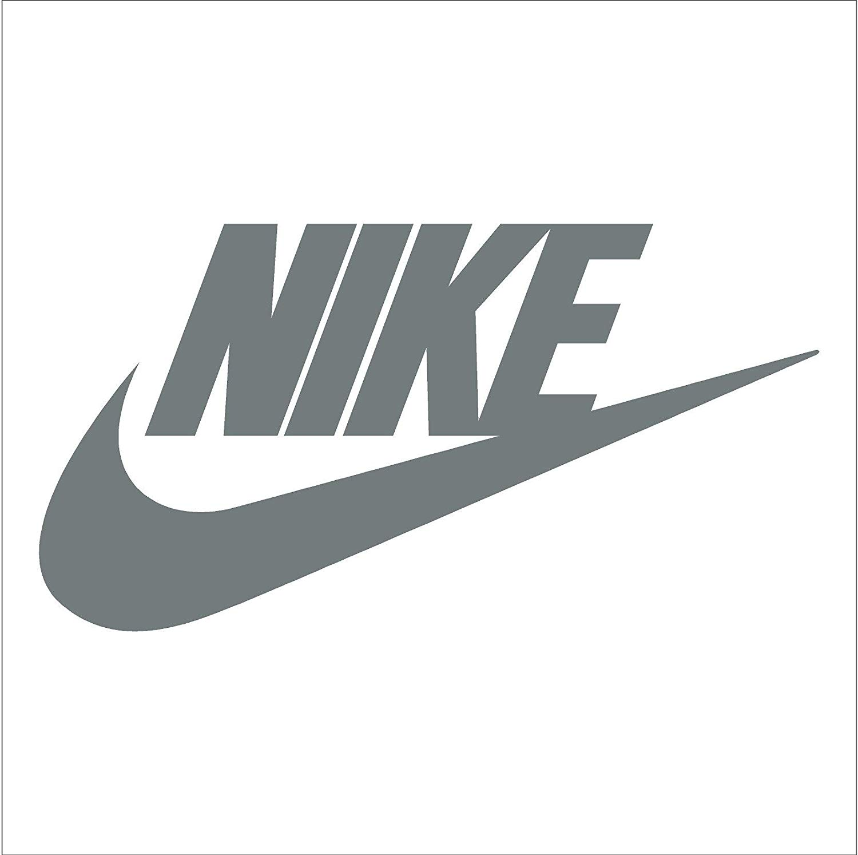 Nike Swoosh Logo Vinyl Sticker Decal.
