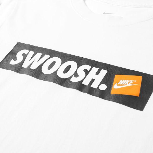 Nike Swoosh Box Logo Tee.