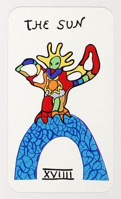 Niki de Saint Phalle tarot cards.