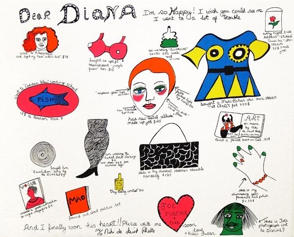 Dear Diana Im So Happy by Niki de Saint Phalle on artnet.