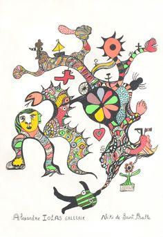 De Tarottuin van Niki de Saint Phalle.