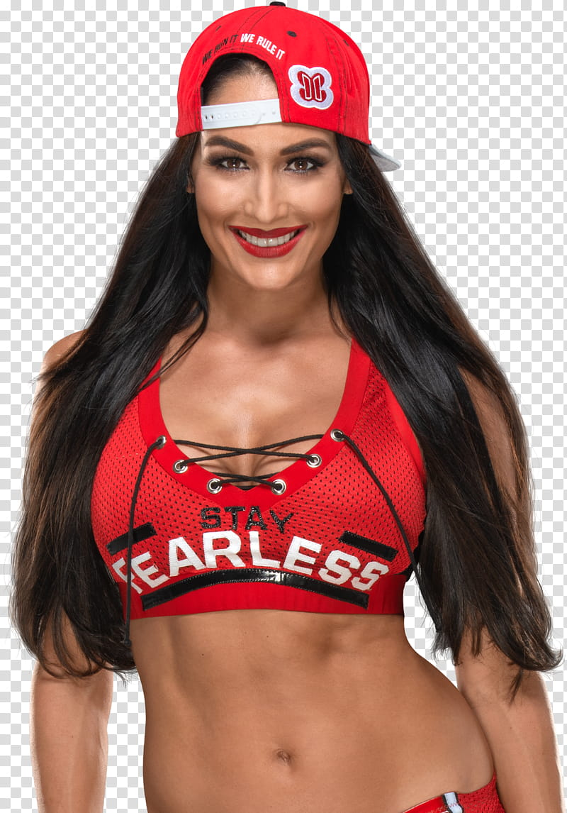 Nikki Bella Render transparent background PNG clipart.