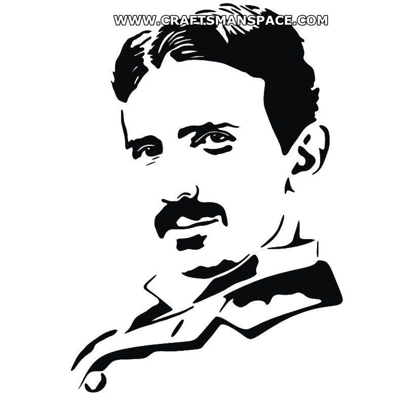 Nicola Tesla Clipart.