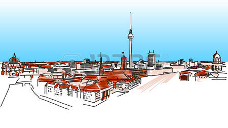 314 Berlin Vector Stock Vector Illustration And Royalty Free.