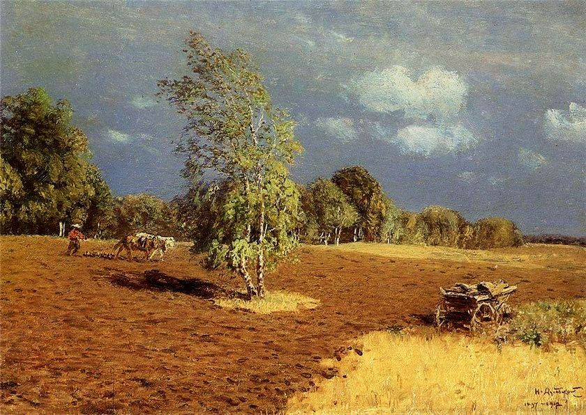 After the Storm by Nikolay Nikanorovich Dubovskoy.