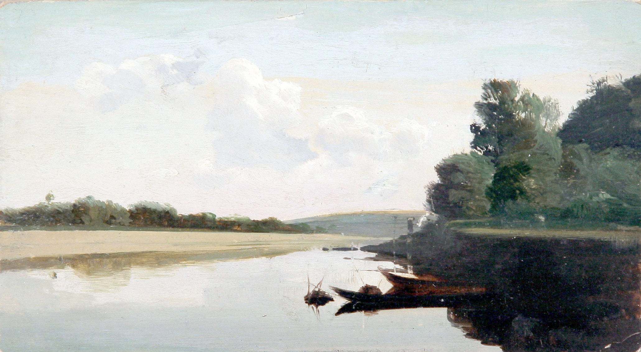 File:Nikolay Dubovskoy Peysazh s lodkoy 1890s.jpg.