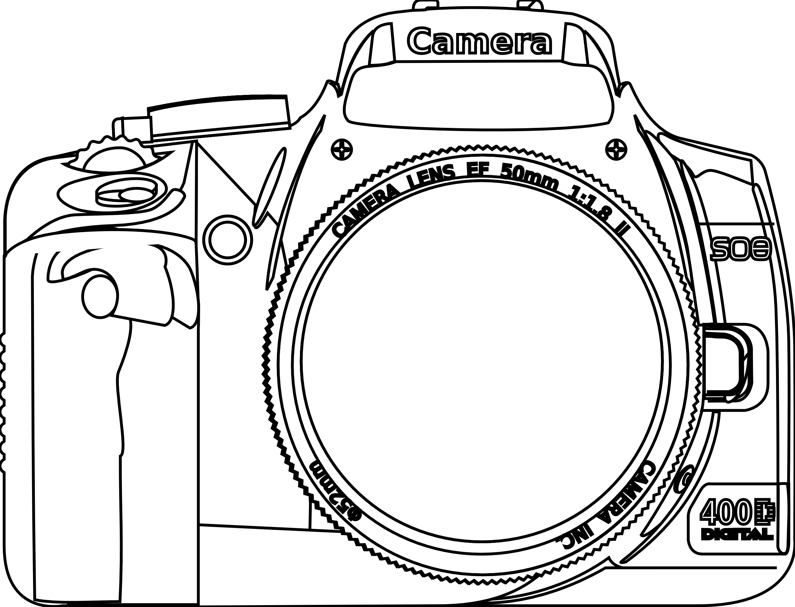 Nikon camera hd clipart.