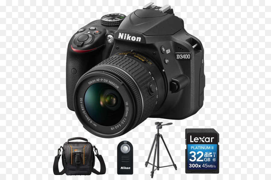 Nikon D3400 Digital Camera png download.