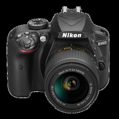 Nikon D3400 + AF.