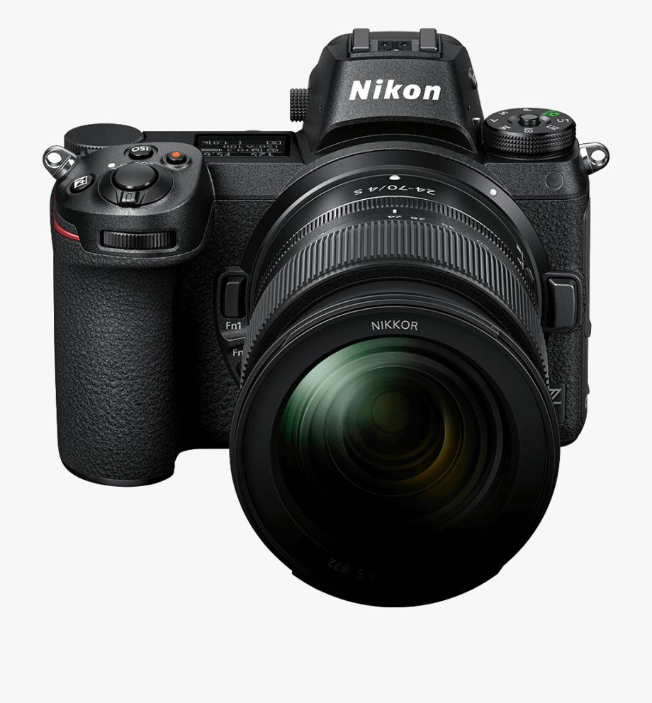 Nikon Clipart Old Camera.