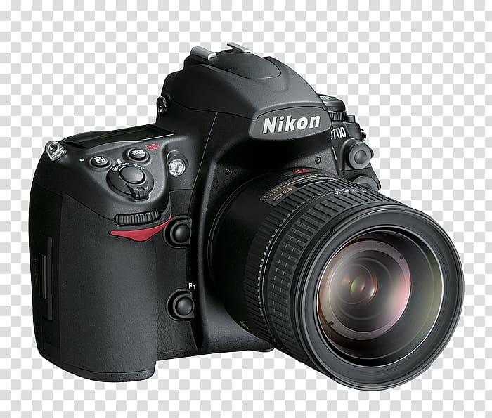 Nikon D700 Nikon D300 Digital SLR Camera, slr transparent.