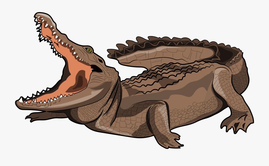 Nile Crocodile , Free Transparent Clipart.